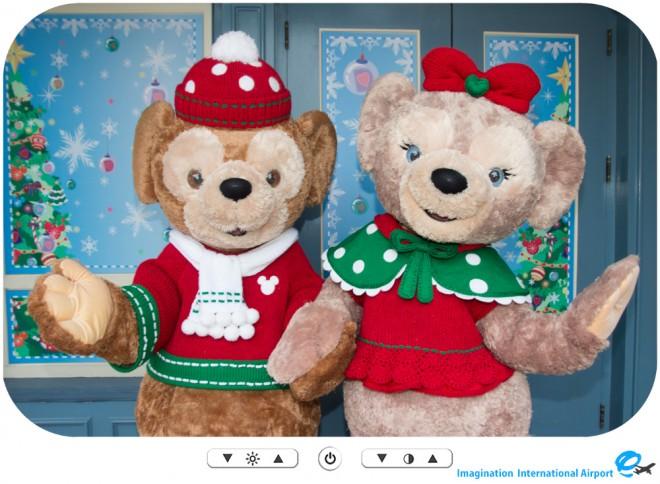 【キャラクターグリーティング】HKDLクリスマス2015 キャラグリまとめ -HKDL1512