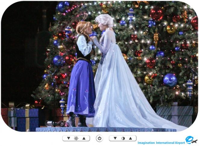 【スペシャルショー】フローズン クリスマスツリーライティングセレモニー -HKDL1512