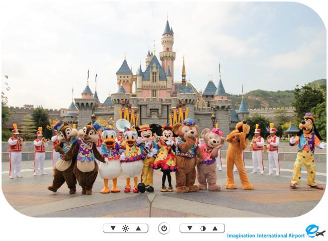 【アトモスフィア】HKDL10thアニバーサリーセレブレーション ウィズ ミッキー&フレンズ -HKDL1512