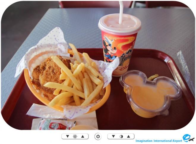【クイックサービスレストラン】香港ディズニーランド スターライナーダイナー -HKDL1512