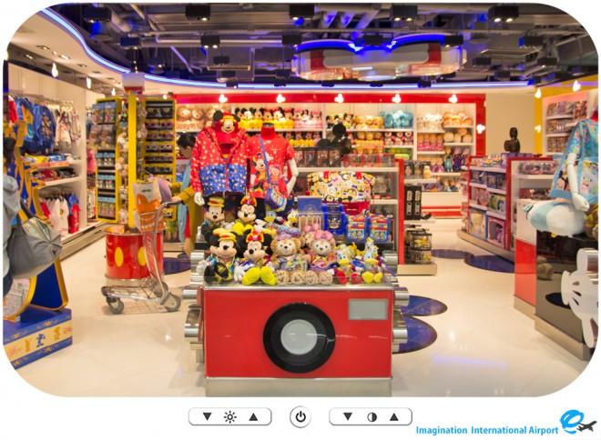 【パーク外のできごと】香港国際空港内 ザ マジックオブ香港ディズニーランド -HKDL1512