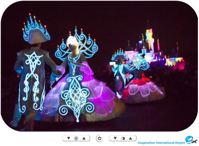 【レギュラーパレード】2015年12月のディズニーペイントザナイト パレード -HKDL1512