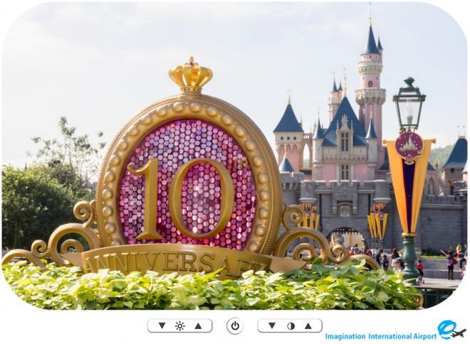 【スナップショット】香港ディズニーランド10周年パークデコレーション -HKDL1512